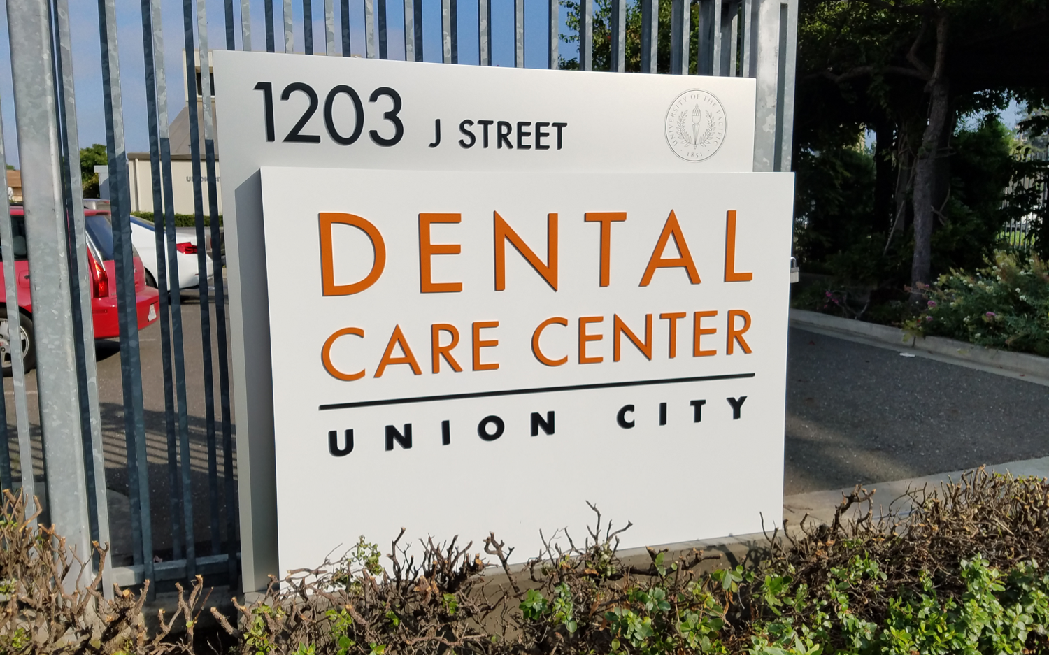 Dental Care Center Sign